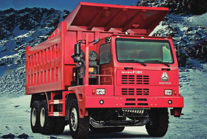 Howo Mining Truck. 6X4. 371HP