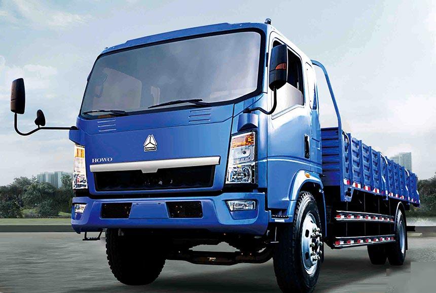 Light Cargo Truck-ZZ1047D3414D1R45
