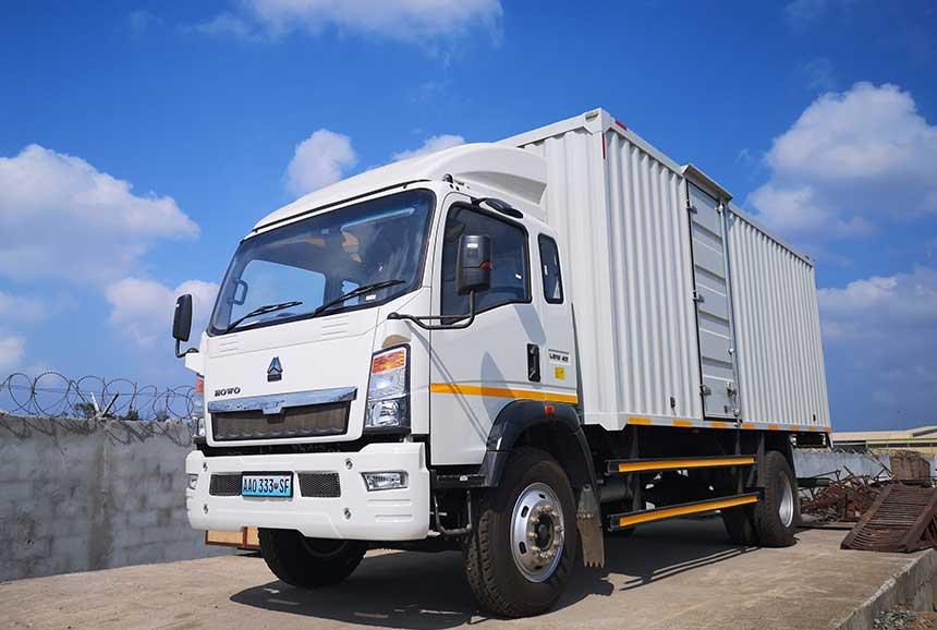 Light Cargo Truck ZZ1167G4715C1R