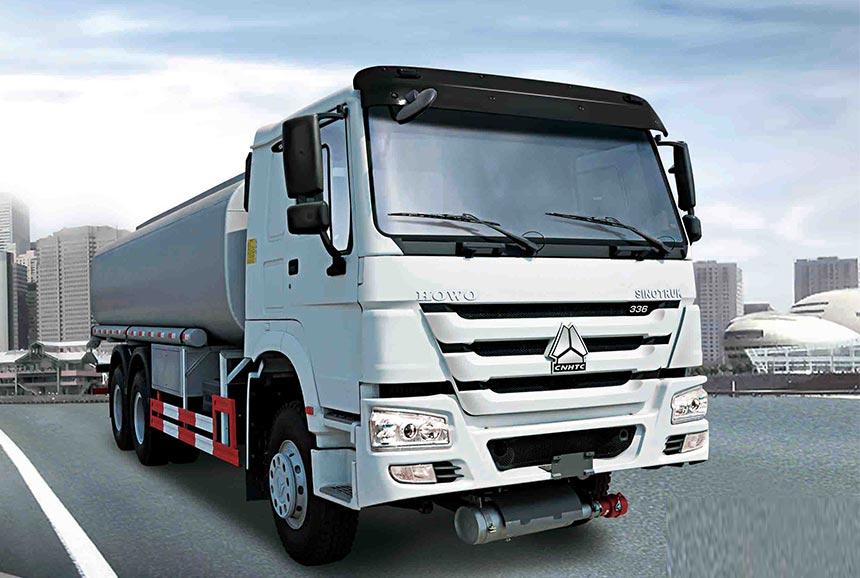 Oil tank truck ZZ1257N4641W-25m³