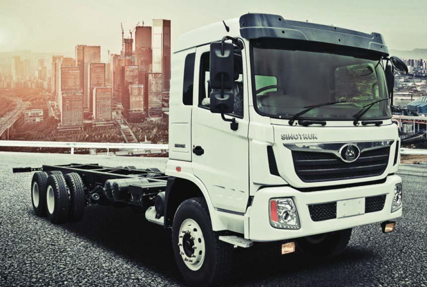 Sinotruk Cargo Truck. 6X2. 260HP
