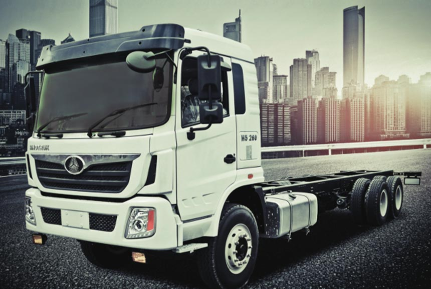Sinotruk Cargo Truck. 6X4. 260HP