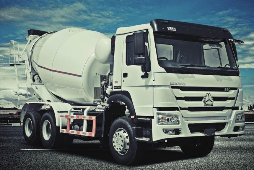 Howo Mixer Truck. 6X4. 290HP