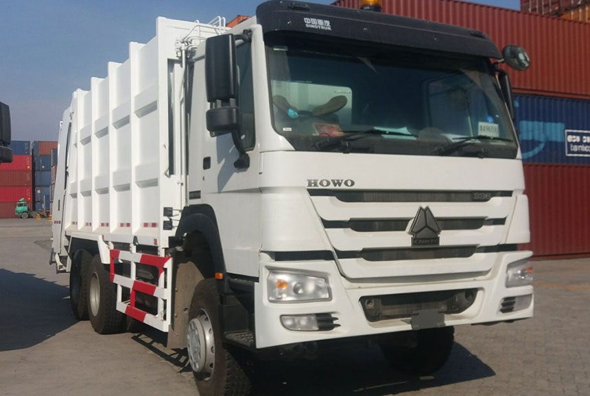 Sinotruk HOWO Compression Refuse Collector 6x4