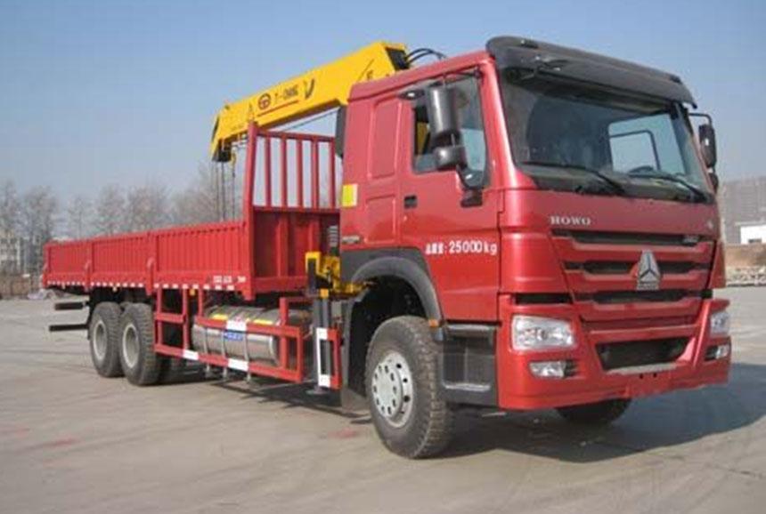 Sinotruk HOWO Truck Crane 6x4 ZZ1257N5841W - 10t